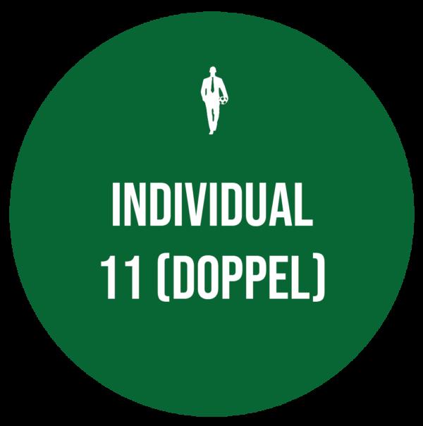 11 Doppeltrainings - Mr. Soccerman